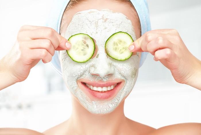 Masker wajah bahan alami untuk wajah cerah bebas jerawat. Foto: Thinkstock