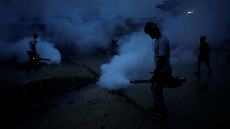 Dunia Waspada Virus Zika