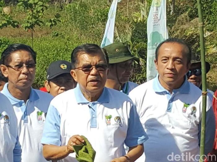 Wapres Jusuf Kalla (Foto: Muhammad Nur Abdurahman/detikcom)
