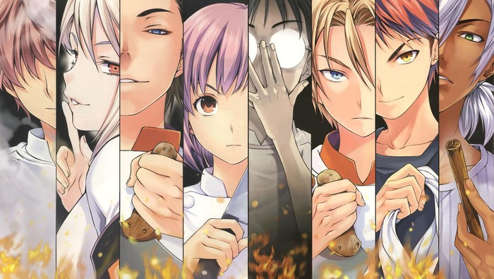 Ini 10 Anime Jepang Yang Wajib Ditonton Pencinta Makanan 1