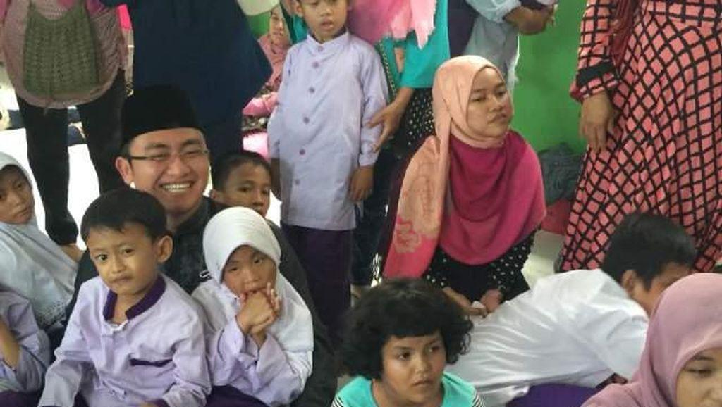 Rano Karno Temani Jokowi, Andika Hazrumy Temui Anak Berkebutuhan Khusus