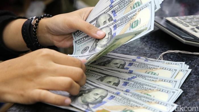 Ilustrasi Dolar AS, Kurs