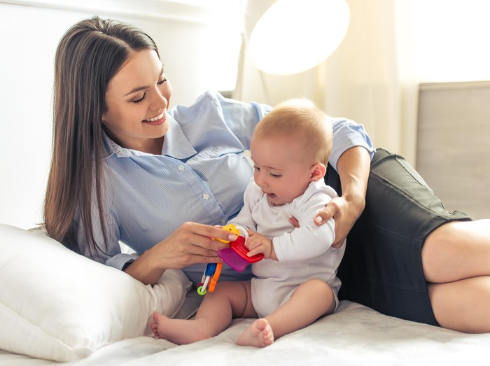 Ilustrasi ibu dan anak/Foto: thinkstock