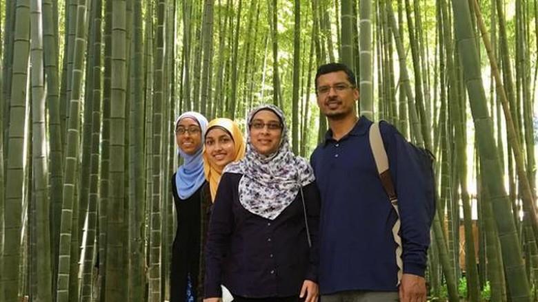 Ilustrasi wisatawan Muslim (Omakase Tour)