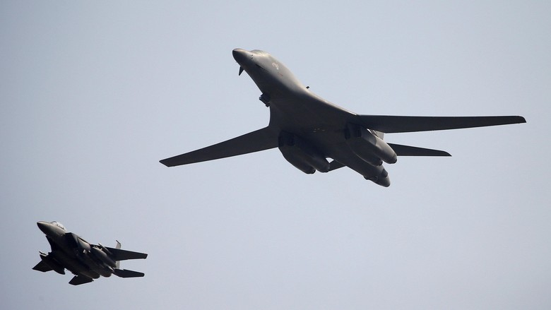 AS Kembali Terbangkan Pesawat Pengebom ke Semenanjung Korea
