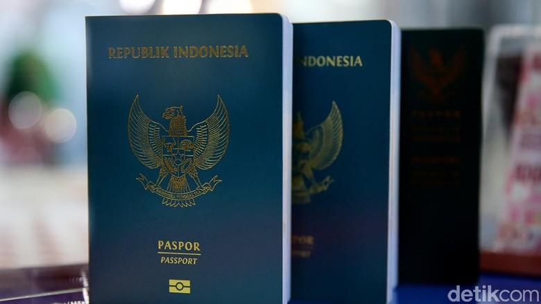 Ilustrasi Paspor Indonesia (Ari Saputra/detikFoto)