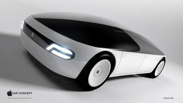 Mobil Otonom Apple Terhambat