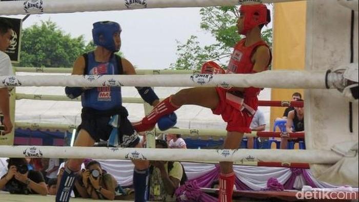 Ilustrasi. Foto: Pertandingan Muay Thai di Ayutthaya (Fitraya/detikTravel)