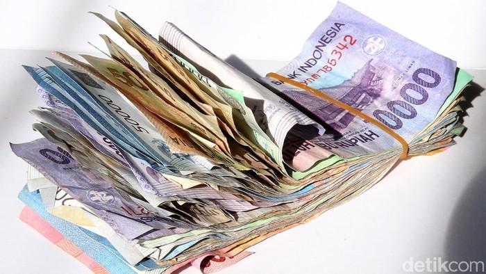 Ilustrasi Uang Receh Konsumsi Rupiah Inflasi Belanja