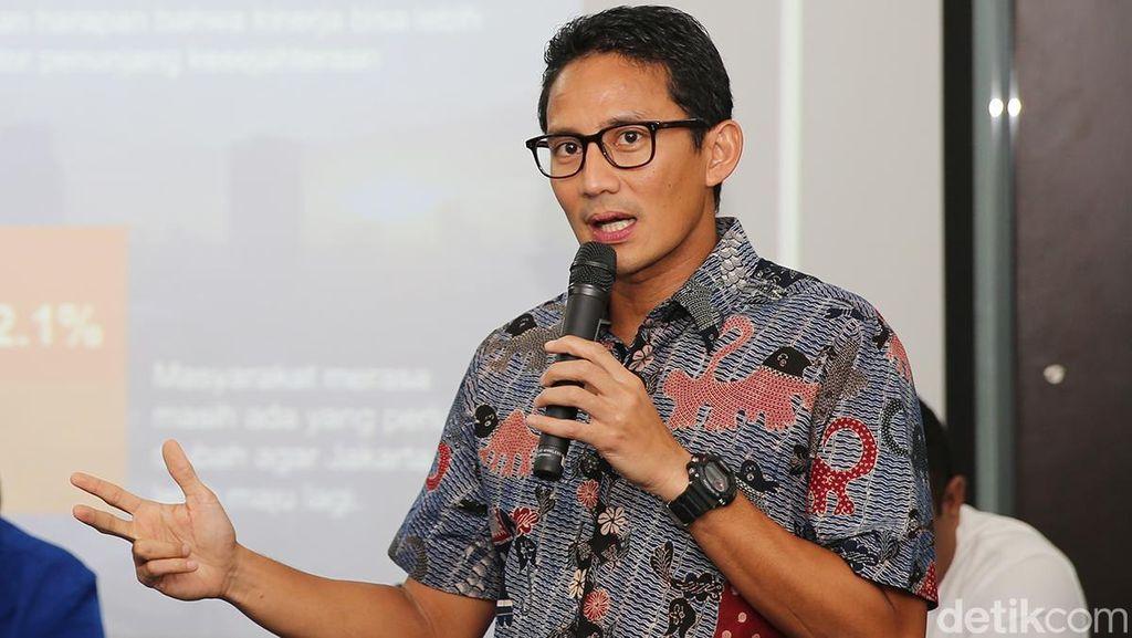 Ahok Kandidat Pemimpin Ibu Kota Baru, Sandiaga Uno Buka Suara