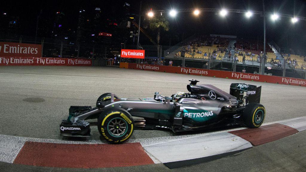 Rosberg Tercepat di Latihan Ketiga, Ungguli Verstappen