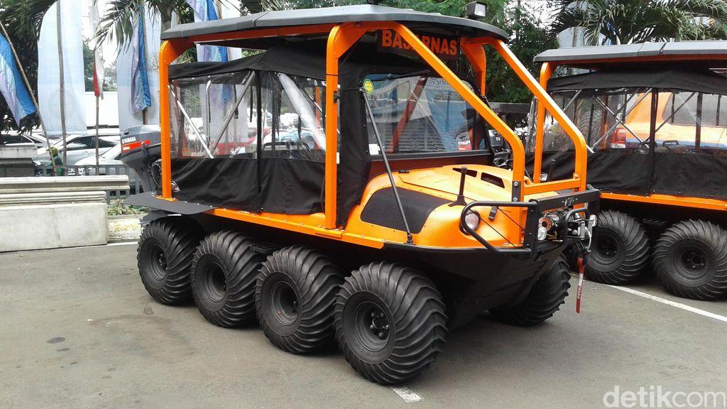 Kendaraan Amfibi Basarnas, Bisa ke Gunung atau ke Laut