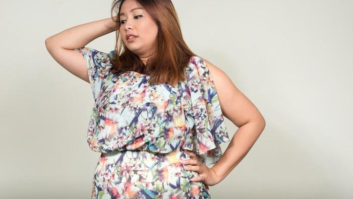 Hati-hati, wanita terlalu gemuk atau terlalu kurus bisa susah hamil. Foto: Thinkstock
