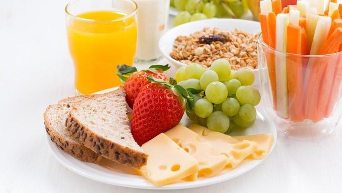Pasien kanker disarankan untuk jaga pola makan seimbang. Foto: iStock