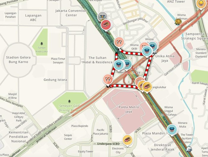 Screen Shot Waze