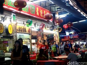 Wisata Malam di Bukit Bintang Malaysia