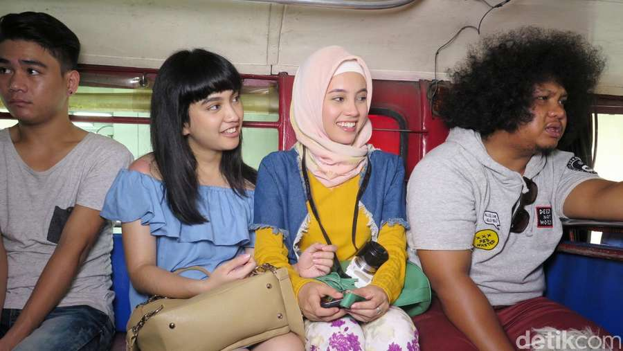 Bintang Trinity, The Nekad Traveler Coba Transportasi Lokal Filipina