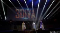 Konser 3 Diva di Balai Sarbini, Semanggi, Jakarta Selatan pada Sabtu (17/09/2016) malam. Pool/Gus Mun/detikFoto.