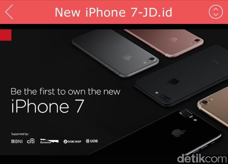 Iphone 7 Mulai Dijajakan Di Indonesia
