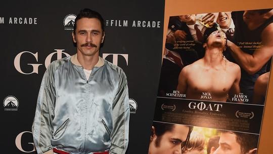 Para Aktor Tampan di Premiere Film Goat