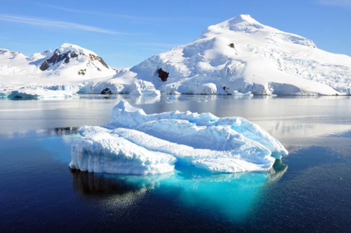 Foto: Kutub Selatan yang jarang terjamah manusia (Thinkstock)
