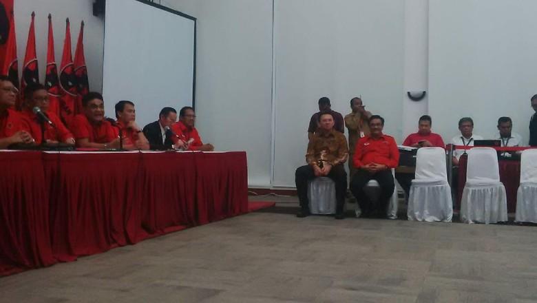 PDIP Resmi Usung Ahok-Djarot di Pilgub DKI