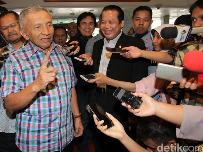 Ketua Dewan Kehormatan PAN Amien Rais. (Lamhot Aritonang/detikcom)