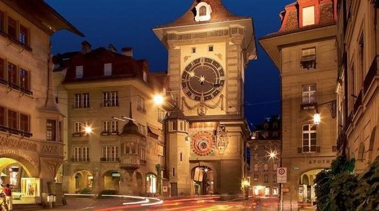 Menara jam Zytglogge di Bern, Swiss (Bern Tourism)