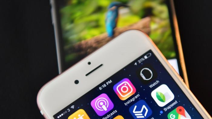 Aplikasi Instagram. Foto: Carl Court/Getty Images