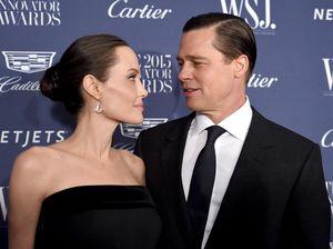 Wah! Angelina Jolie dan Brad Pitt Diam-diam Bertemu