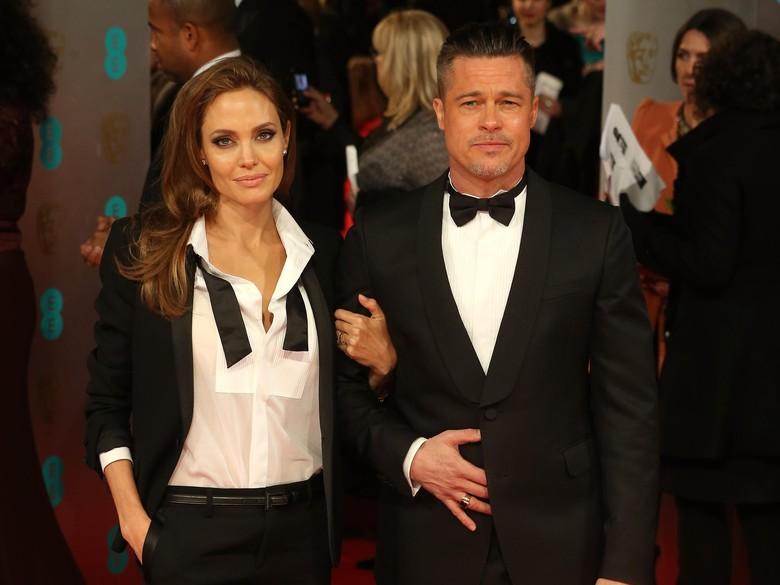 Perceraian Angelina Jolie dan Brad Pitt Makin Alot