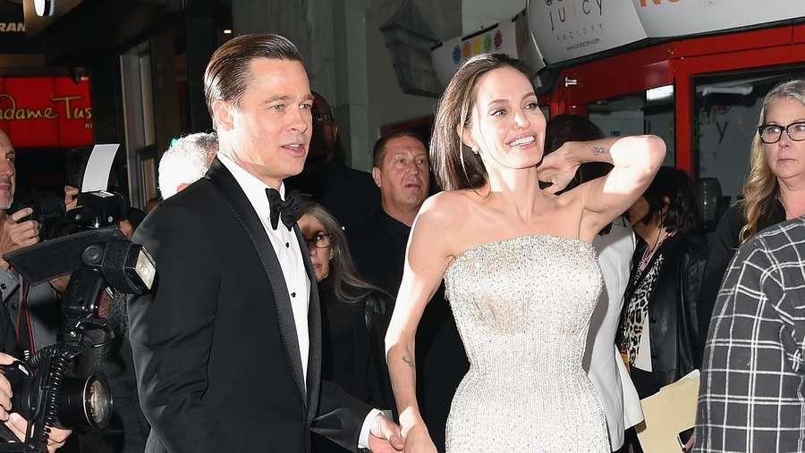 Ini Kemesraan Terakhir Angelina Jolie dan Brad Pitt