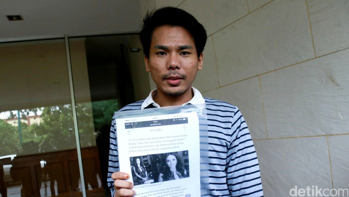 Robby Abbas di Polda Metro Jaya