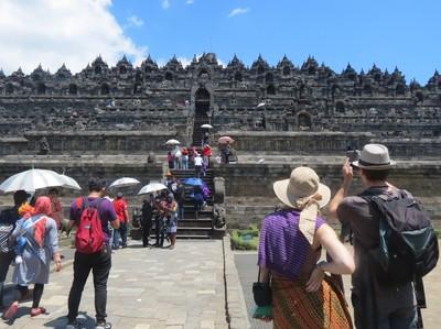 Borobudur yang Terus Dipercantik
