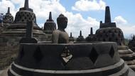 Waduh, Candi Borobudur Ditempeli Ribuan Permen Karet!