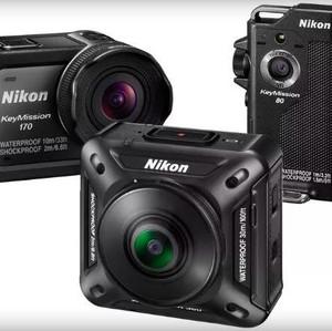 Dua Action Cam Nikon Tantang GoPro & Incar Vlogger