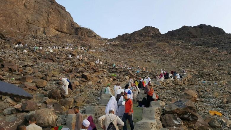 Foto: Kawasan Jabal Nur (Rachmadin Ismail/detikcom)