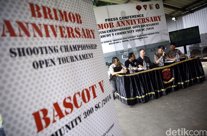 Danmen 1 Gegana Koprs Brimob Polri Kombes Donyar mengatakan, kejuaraan menembak ini diberi nama Bascot V Comm 300 SC 2016.