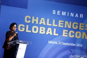 """Sri Mulyani Hadiri Seminar """"Challenges to Global Economy"""""""