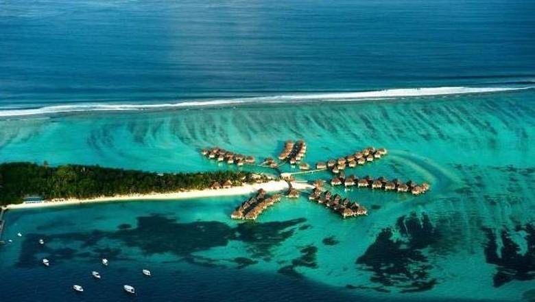 Ilustrasi indahnya Maladewa