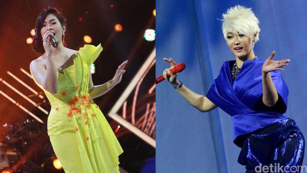 Aksi Inul dan Iis Dahlia di Konser Nominasi AMI Awards 2016