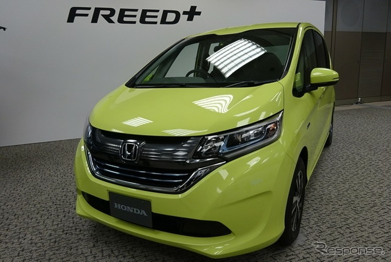 Honda Freed model baru Foto: Response