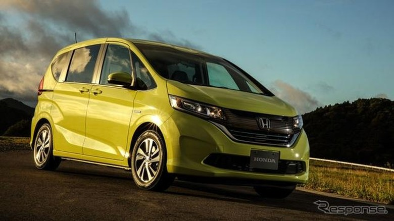 Honda Freed Foto: response