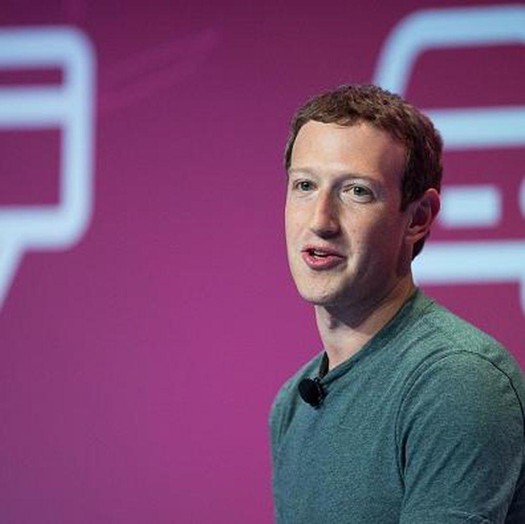 Heboh Mark Zuckerberg Minta Staf Keringkan Ketiaknya
