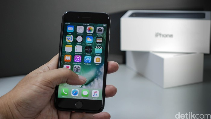 iPhone 7. Foto: detikINET - Anggoro Suryo Jati