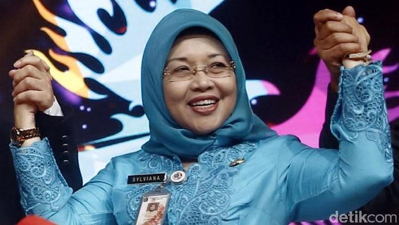 None Jakarta Sylviana Murni Kini Jadi Cawagub DKI