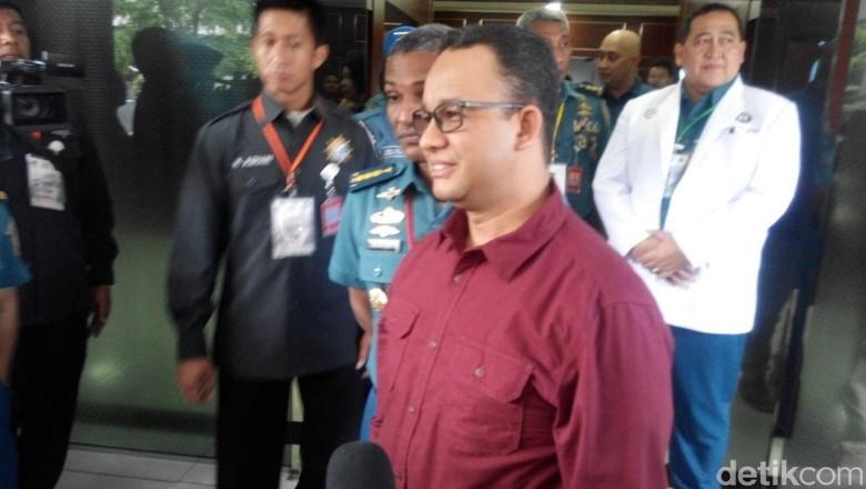 Sungai di Jakarta Kini Bersih, Anies: Itu Dirancang Gubernur Sebelumnya