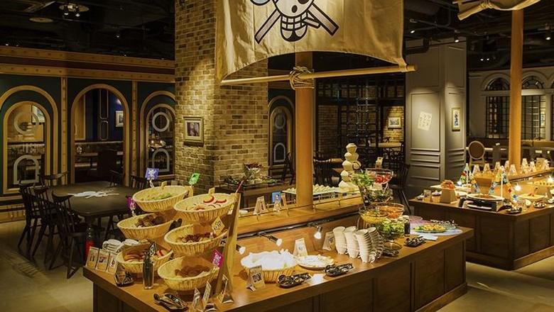 Restoran bertema One Piece di Tokyo
