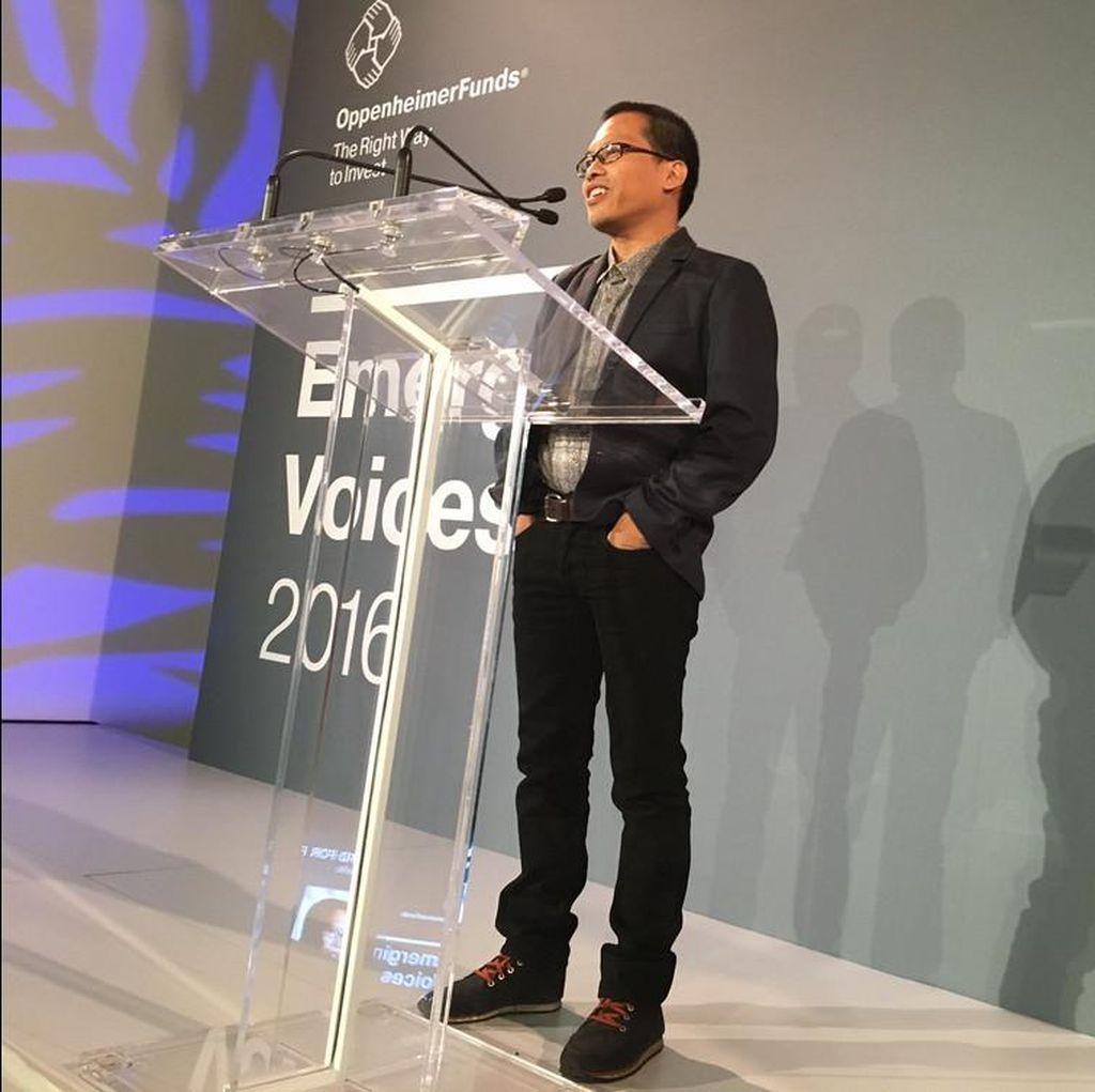Eka Kurniawan Terima Prince Clause Awards di Belanda