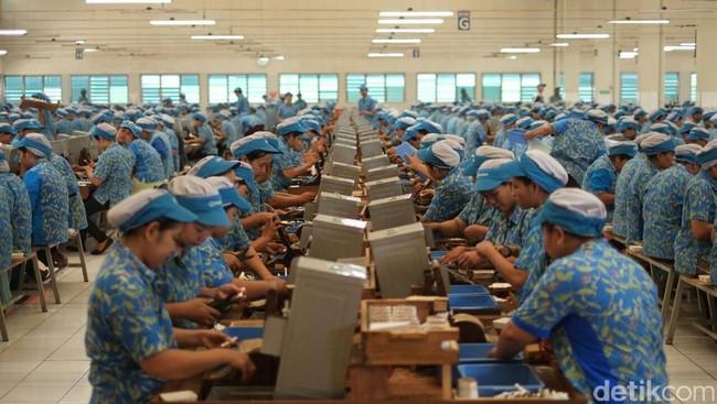 Ilustrasi pabrik rokok. Foto: Dok. Ditjen Bea Cukai